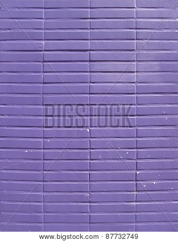 Purple Paint Tile Wall Backdrop