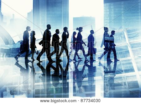 Diversity Business People Cooperate Professional Occupation Concept