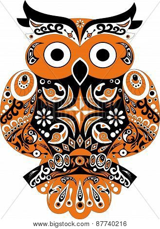 Owl, bird, sova