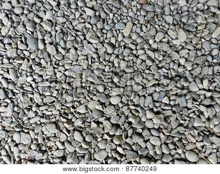 texture of gravel