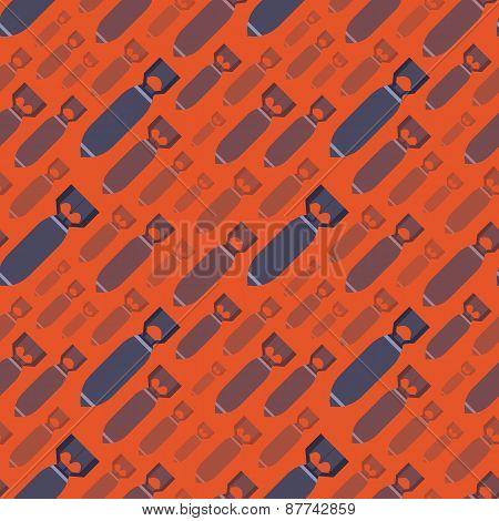 H-Bobms seamless pattern