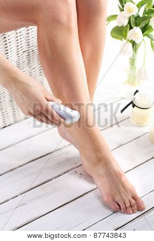 Hair removal, feminine care