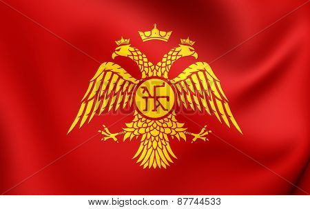 Byzantine Eagle, Flag Of Palaiologos Dynasty.