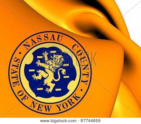 Flag Of Nassau County, Usa.