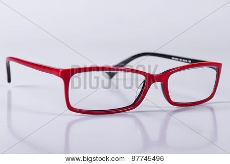 Optical Red Glasses