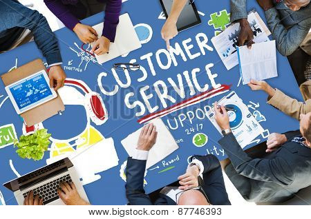Customer Service Support Help Assistance Concept