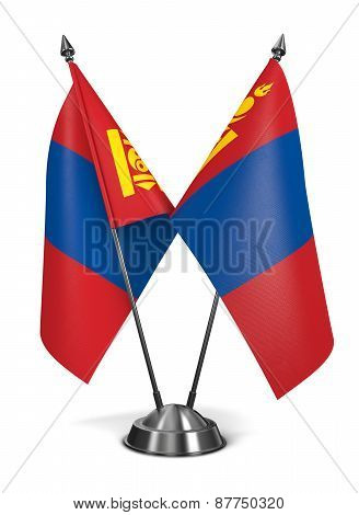 Mongolia - Miniature Flags.