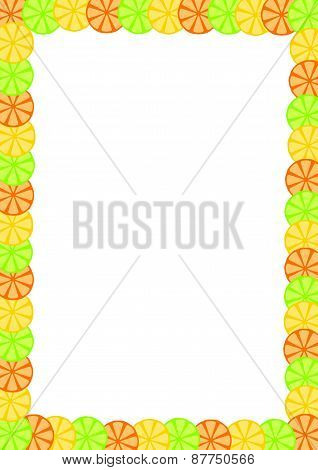 Fruit Slice Frame