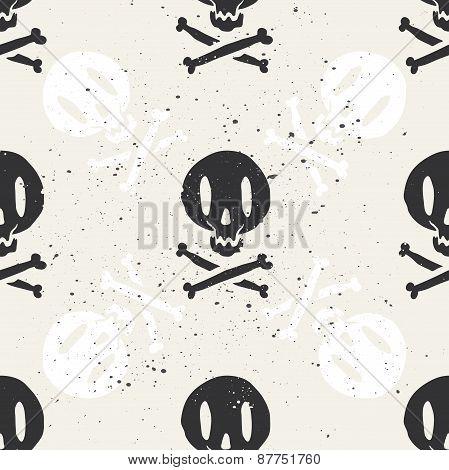 Seamless cartridge skull