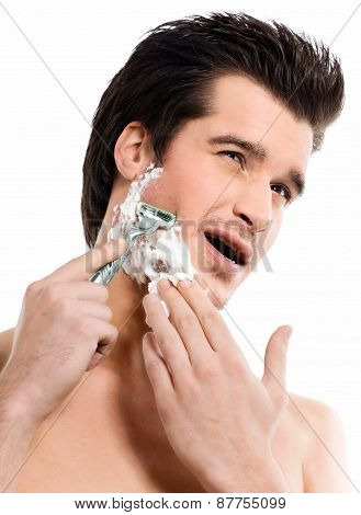 Painful Shaving