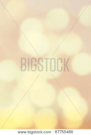 Soft Colored Blur Abstract Background.  Abstract Twinkled Bright Background With Bokeh Defocused Gol