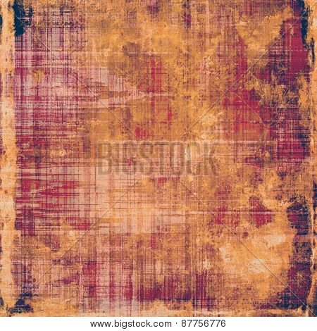 Old grunge antique texture. With different color patterns: brown; yellow (beige); purple (violet); pink