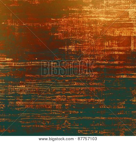 Old abstract grunge background, aged retro texture. With different color patterns: brown; yellow (beige); black