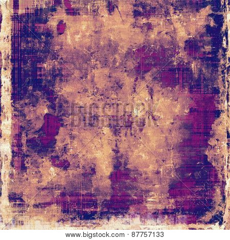 Art grunge vintage textured background. With different color patterns: yellow (beige); purple (violet); pink