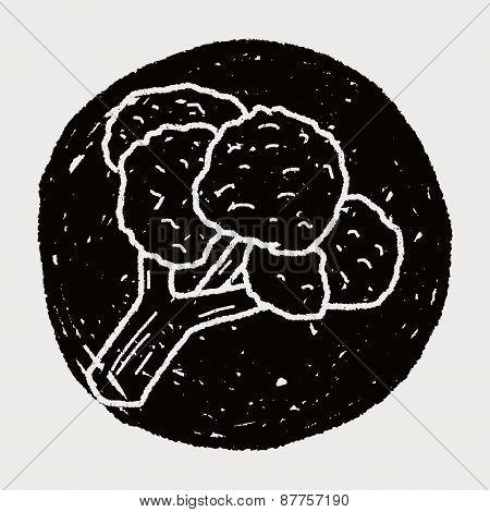 Cauliflower Doodle