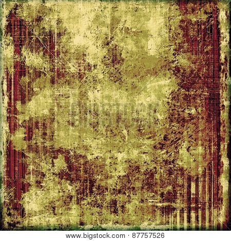 Grunge old texture as abstract background. With different color patterns: brown; green; purple (violet)