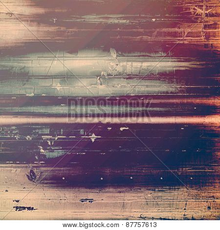 Art grunge vintage textured background. With different color patterns: brown; gray; yellow (beige); purple (violet)