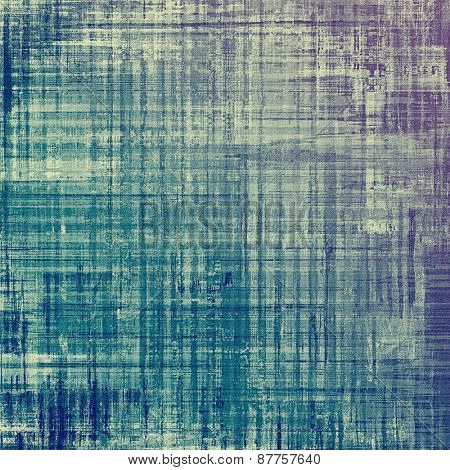 Retro background with old grunge texture. With different color patterns: gray; blue; cyan; purple (violet)