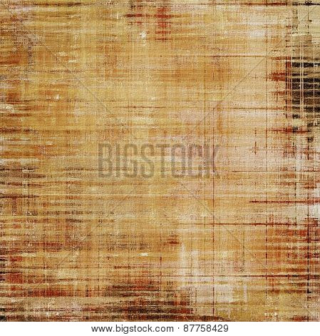 Old antique texture - perfect background with space for your text or image. With different color patterns: brown; gray; yellow (beige)