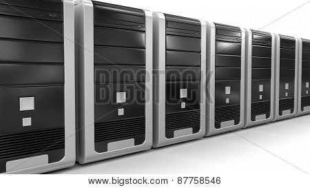 Computers (clipping path included)