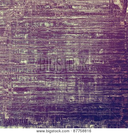 Vintage textured background. With different color patterns: gray; blue; purple (violet)