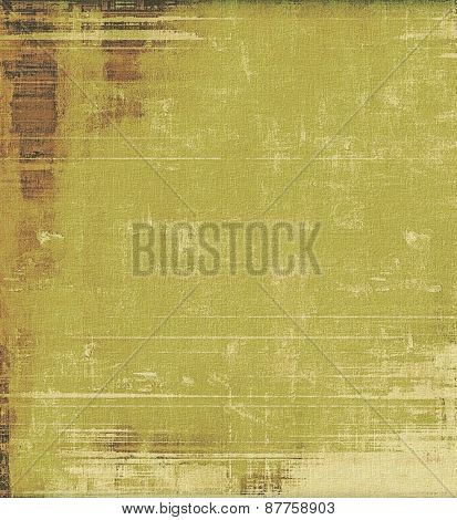 Grunge texture, distressed background. With different color patterns: brown; green; gray