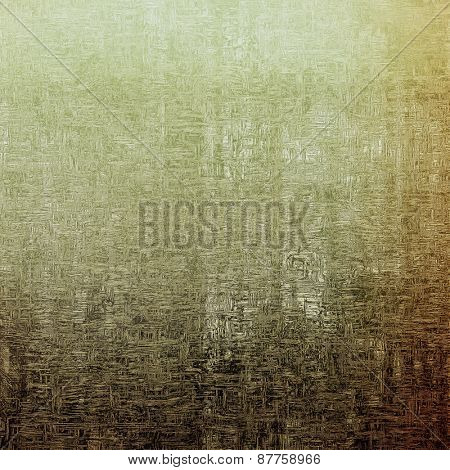 Vintage aged texture, colorful grunge background with space for text or image. With different color patterns: brown; gray; yellow (beige)