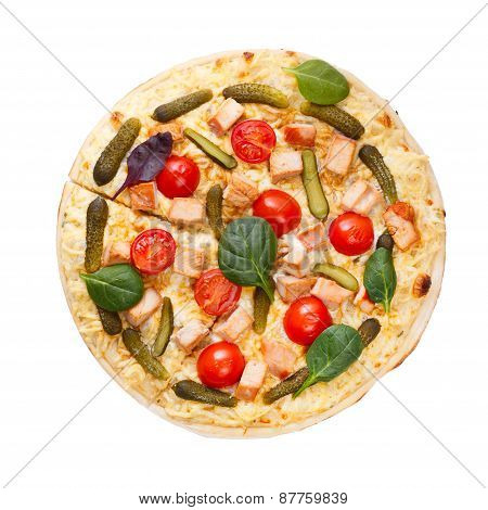 Pizza Top View