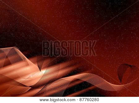Abstract Dark Background Fo Design