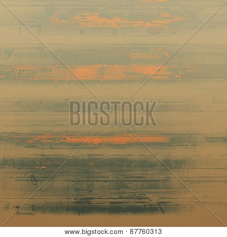 Vintage textured background. With different color patterns: brown; gray; yellow (beige)
