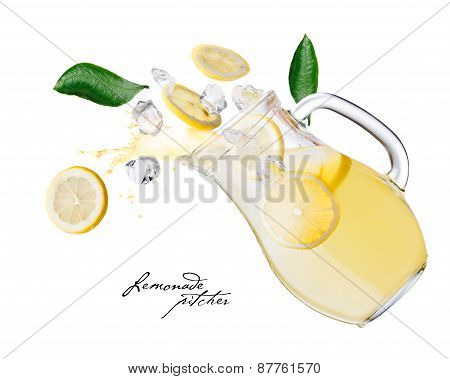 Lemonade Pitcher Splashes