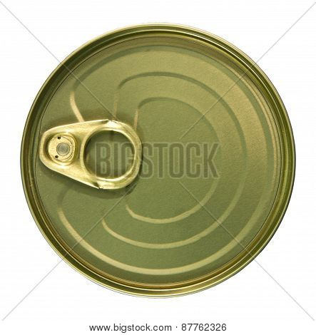 Top Of A Golden Can.
