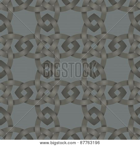 Celtic Knotwork Seamless Background