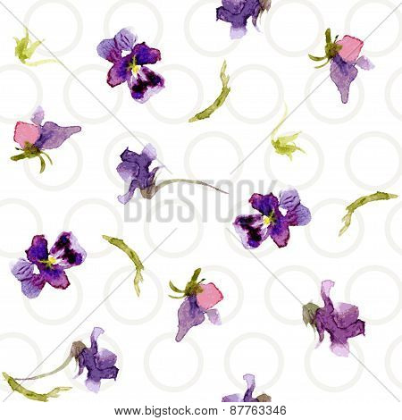 Plants in watercolor