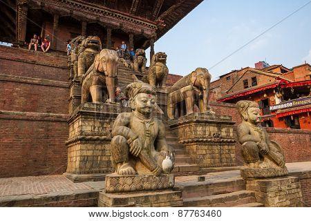 Temple in Bhaktapur