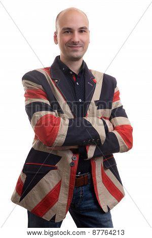 Casual Fashion Man Isolated