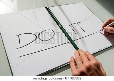 Do It Concept