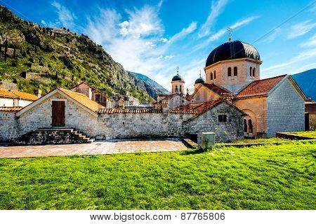 Kotor old city in Montenegro