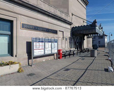 Joliet Union Station, Joliet, Illinois