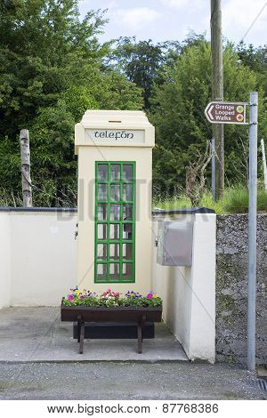 Old Irish Telephone Kiosk