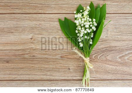 lilly of the valley posy