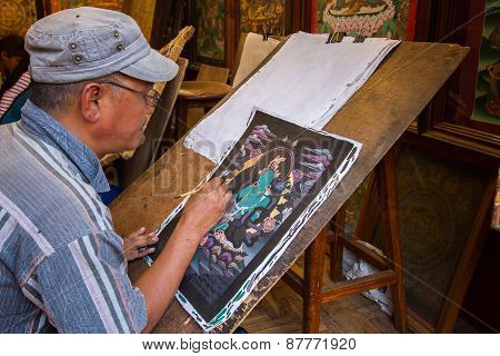 Tibetan Artist