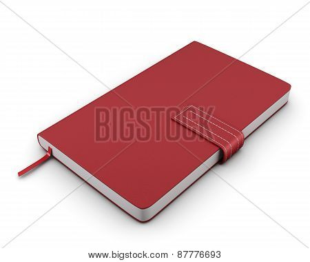 Red Notebook For Notes