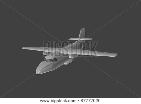 Model Aircraft In 3D.