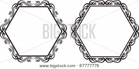 Hexagonal Frames