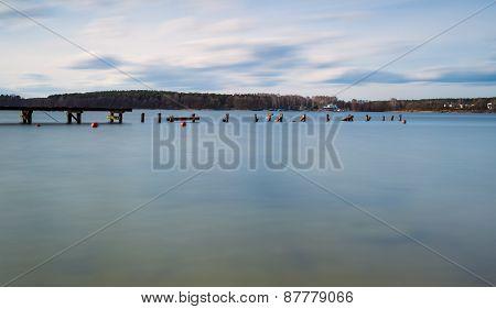 Long Exposure Lake