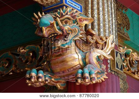 Toshogu Elephant Sculpture