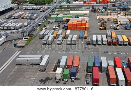 Containers In Asia