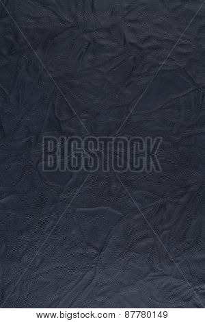 Dirty Blue Leather Texture