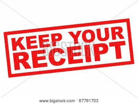 Keep Your Receipt